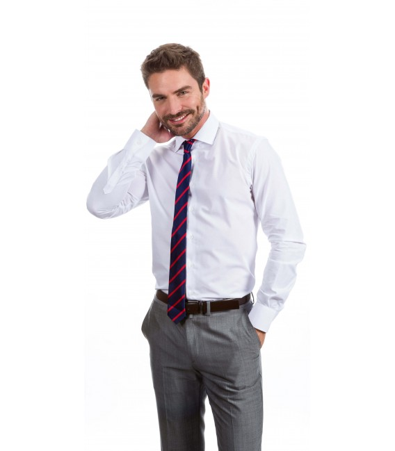 Camisa a medida blanca