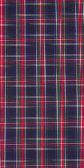 Camisa a medida cuadro escocés multicolor