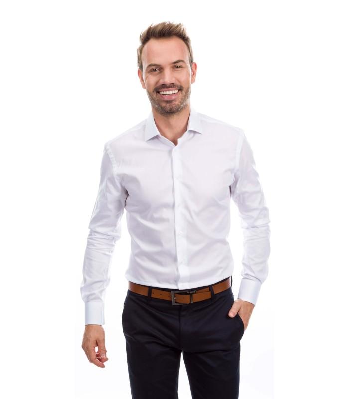 Camisa a medida blanca  fa8a28745744e