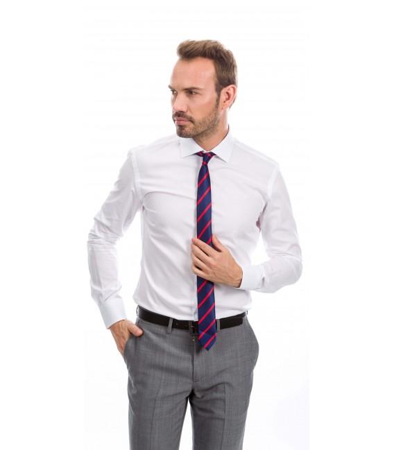 Camisa a medida blanco