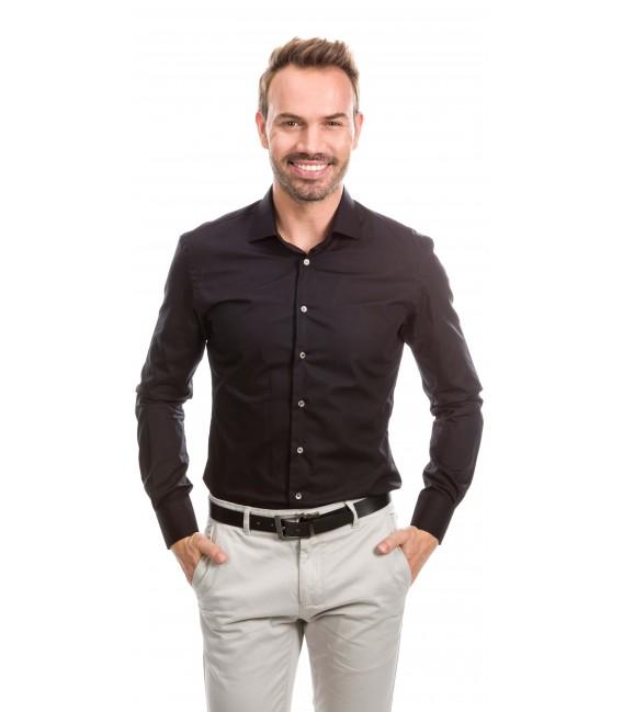 Camisa a medida negro