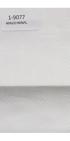 Camisa blanca de espiga