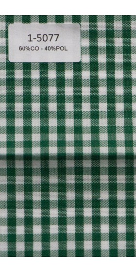 Camisa de cuadro verde