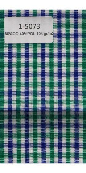 Camisa de cuadros multicolor