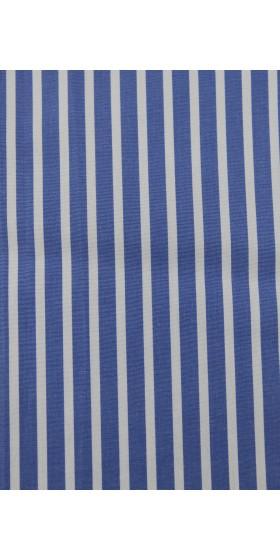 Camisa a medida azul dibujos