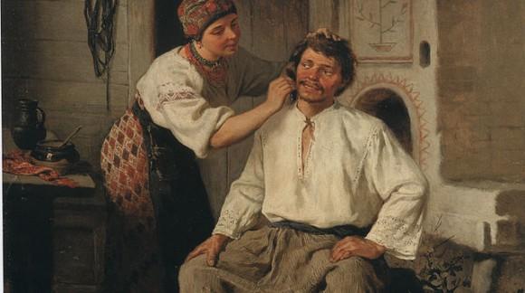 La camisa folk (tradicional)
